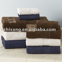 customized cotton terry bath towel