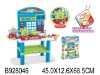 plastic toy kitchen set w/music&light