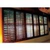 adjustable wooden shutter window/blind