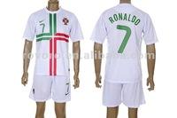 2012 Euro High Quality Portugal Soccer Jerseys and Shorts, Football Shirts