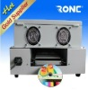 New !! CD/DVD surface glossy oil coating machine