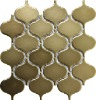 Matt Dark Grey Big Lantern Ceramic Mosaic Design CZM309A