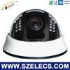 2012 newly dome plastic cctv camera with IR lighs ir digital color ccd ip camera