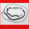 2012 fashion lady diamond belts,rhinestone belt,chain belt
