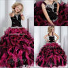 2013 new arrival ball gown beaded cheap girl pageant dress