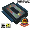 A876 Double interface 2.5 HDD SATA,OEM card reader quantity 100%free shipping