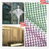Shining anodization decorative metal curtain