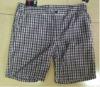 Men's 100% Cotton Checker Shorts
