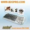 Mini keyboard with Built-in lecture laser pointer
