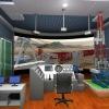 Rig-installing simulator
