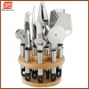 DCJB2014X-T3 BestSource wooden block set names of kitchen utensils