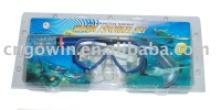 water diving set