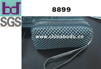 bule handbag/cosmetic bag in aluminum beads
