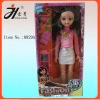 Guangzhou plastic toys doll for kids 22 inch music doll