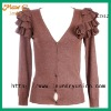 2012 Female handmade V-beck school cardigan KTS12#