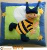 plush and stuffed Decorative pillows,Cartoon Bee -08119