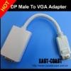 Displayport to VGA female adapter