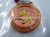 sports souvenir brass medal