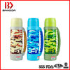 military stainless steel vacuum thermos bottle with strap