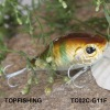 weihai fish hunter wobbler lure crank bait plastic hard fishing lure TC02C-G11F