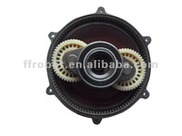 Burnishing and floor washing machine gearbox