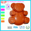 Bear Shape Cake Making Utensils(Silicone Cake Mold) Food Grade With Cheap Price