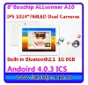 "Dual camera bluetooth 8"".IPS 1024*768 1.5GHz Boxchip A10 android 4.0.3 ICS Tablet PC (N83)"
