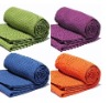 anti slip microfiber yoga towel