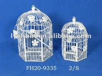 antique decorative iron bird cage hanging
