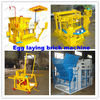 Hydraulic brick making machinery QMY6-25 Manual brick machinery