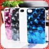New Fashion Stylish Water Cube Protective Hard Case for iPhone 4 4S 4G