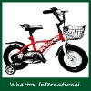 12 inch kids dirt bike bicycle 203-12A with a front basket