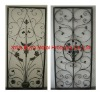 Decorative Forged Iron Door Frame