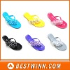 Ladies' Crystal Shoes And PVC Jelly Sandals