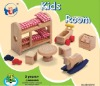 """TONY"" children's room wooden toys Doll Houses Mini Furniture"