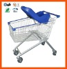 Baby chair shopping trolley