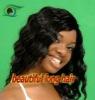Top quality human hair wig cheap long curly hair wig