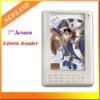 e-book reader 7 inch