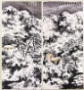 Chinese traditional original landscape burnt ink painting