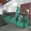 CNC hydraulic upper roller universal metal rolling machine