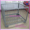 wire mesh container, folding cage