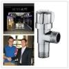 Popular high grade brass bathroom faucet water angle valve
