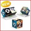 Exclusive Duo Cube Calendar, 3D Calendars