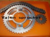 Motorcycle chain and sprocket set Titan