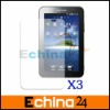 3 Pcs/lot Anti-Fingerprint, Anti-Glare, Matte Finishing Screen Protector for Samsung Galaxy Tab P1000