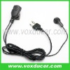 Two way radio earphone for Icom radio IC-F3 IC-F3S