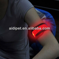 2012 top selling flashing led slap wristband