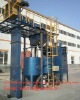 grit/sand blasting machine for shipyard big mechanical engineering