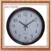 plastic circle wall clock