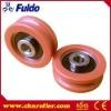 U-Grooved Plastic Roller, Nylon Otis Elevator Door Roller EBB-3011U